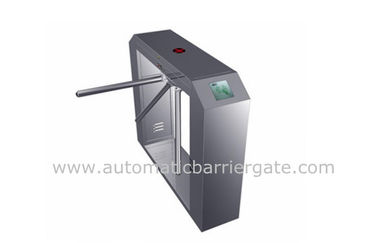 High Class Stainless Steel ID Card Tripod Turnstile Gerbang dengan Arah Tunggal