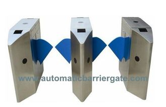 Indoor atau Outdoor Waterproof serbaguna Retractable Flap Barrier dengan Alarm Suara