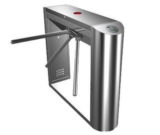 Cina 0.2S RS485 Digital Security Stainless serbaguna Barrier Gate sistem Tripod Turnstile pabrik