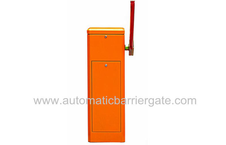 AC220V / AC110V Powder Coating Customizable Ekonomi Automatic Barrier Gate terbuka atau Indoor 3s-6s pemasok