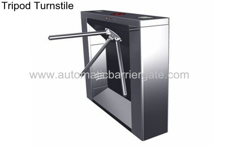 Digital Card Magnetic Stainless Steel Tripod Turnstile, Subway Entrance Barrier pemasok